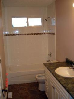 Bathroom Renovation from Surrey BC General Contractor.
