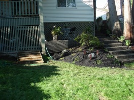 Concrete Installer Surrey - Patio and Stairs