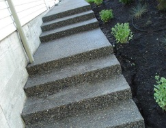 Concrete Installation Stairs and Pathway Surrey