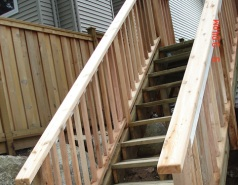Deck Construction by General Contractor in Surrey
