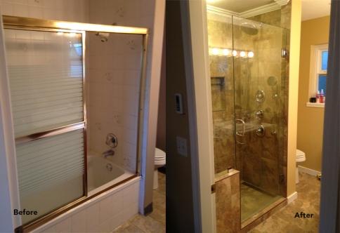 Full shower renovation