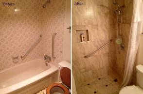bathroom renos langley