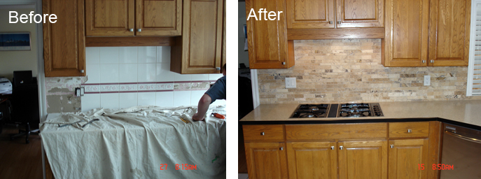 Kitchen Remodeler Surrey - Before and After
