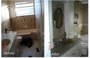 Bathroom Renovator Surrey - Before and After