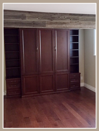 Custom Bedroom Cabinets