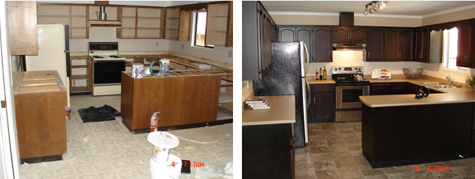 Kitchen Renovator Surrey - Before and After