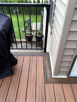 Two-tone Trex Decking Project